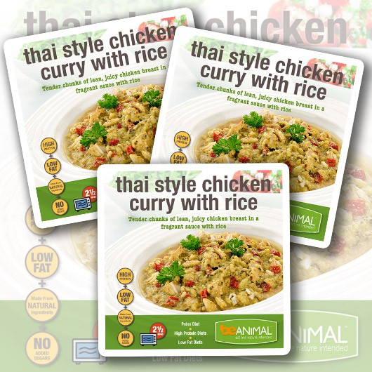 Thai Style Chicken Curry with Rice