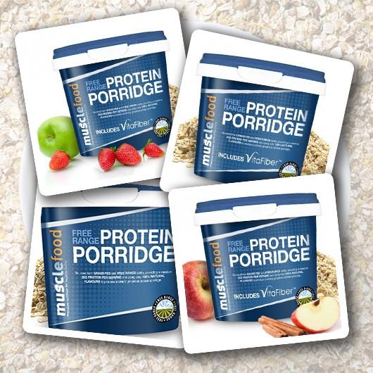 Protein Porridge Variety Pack