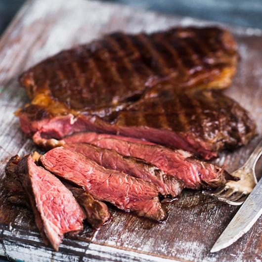 21 Day Matured New York Strip Steaks
