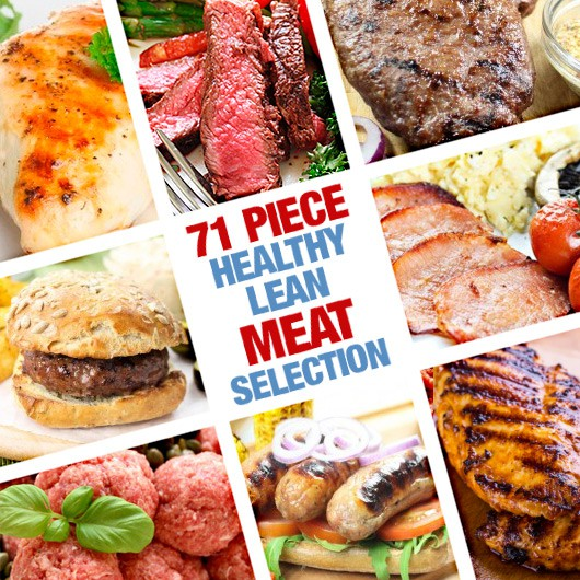 71 Piece Healthy Lean Meat Selection