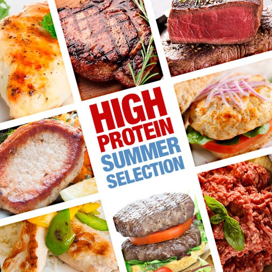 53 Piece High Protein Summer Selection