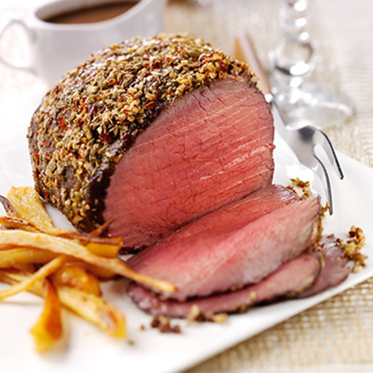 Luxury British Christmas Topside Beef Hamper