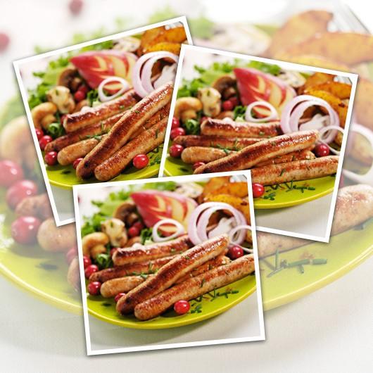 Pork & Cranberry Sausages - 18 x 75g