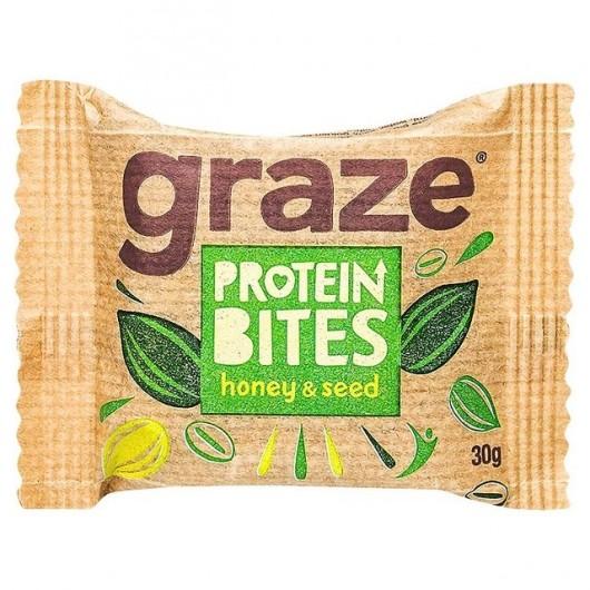Graze Honey & Oat Protein Bites - 30g