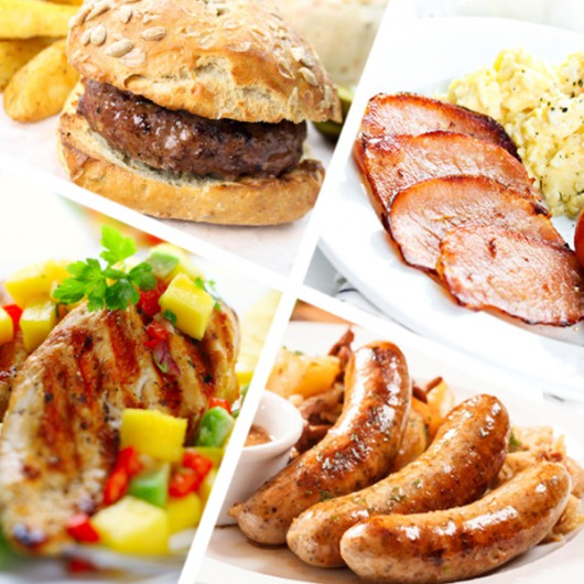 50 Piece Essential Meat Selection