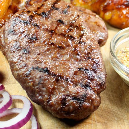 4 x 6-7oz Free Range Hache Steaks