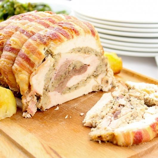 Luxury Westin Gourmet Christmas Four Bird Roast Hamper -116 Pieces