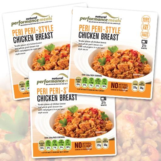 Peri Peri Style Chicken Meal
