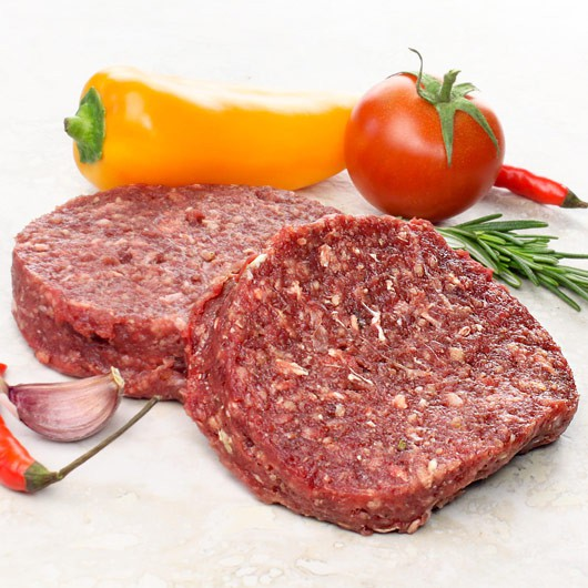 Extra Lean Ostrich Steak Burgers - 2 x 4oz