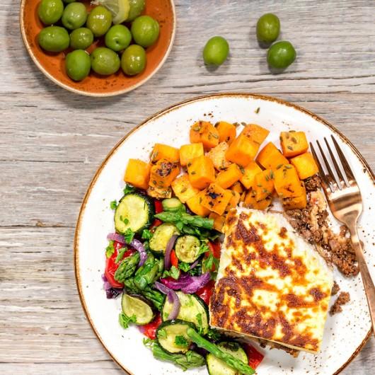 Beef Lasagne & Veg Meal - 40g Protein