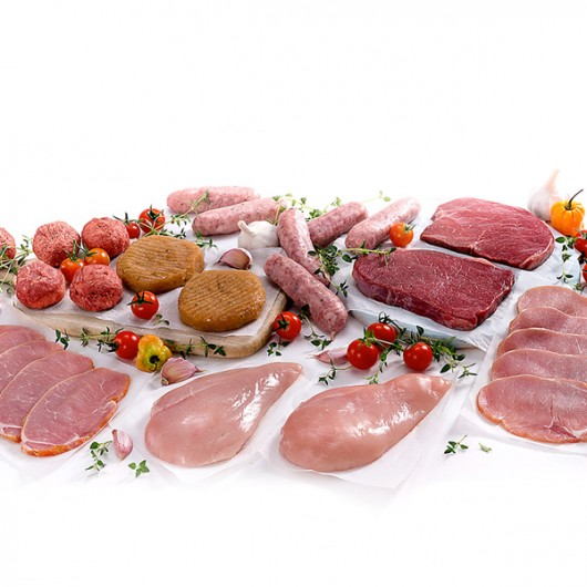 Truly Outstanding 61 Piece Meat Selection