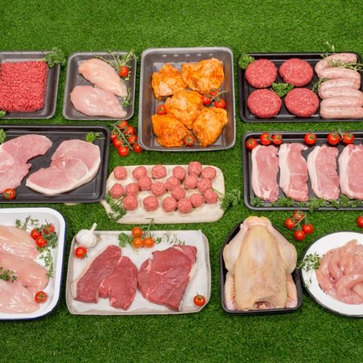 Huge Butcher's Fresh Meat Selection