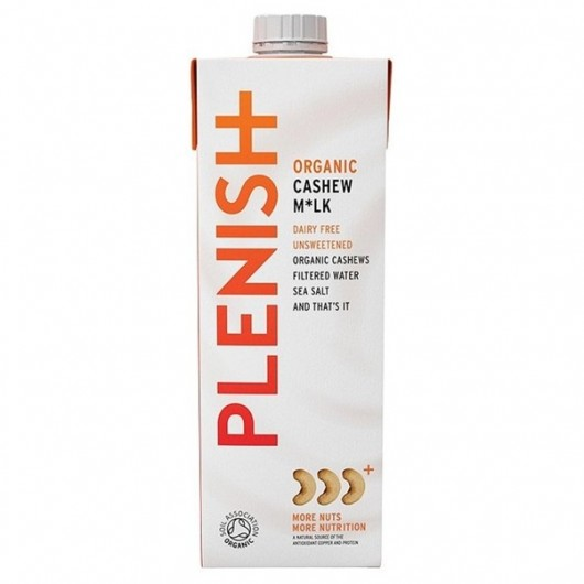 Plenish Dairy Free Cashew Milk - 2 x 1 Litre Cartons
