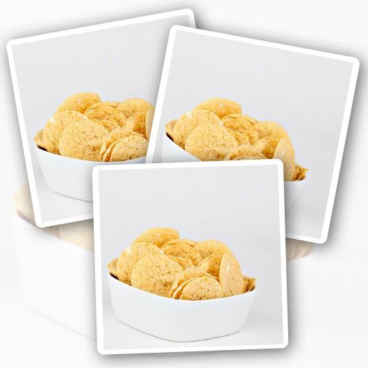 Roast Chicken Protein Crisps
