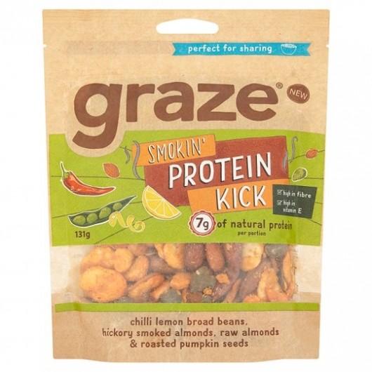 Graze Smokin' Protein Kick Sharing Bag 131g