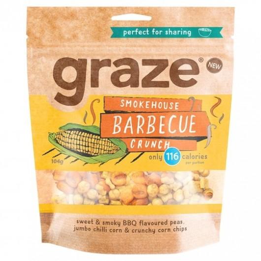 Graze BBQ Crunch Sharing Bag 104g