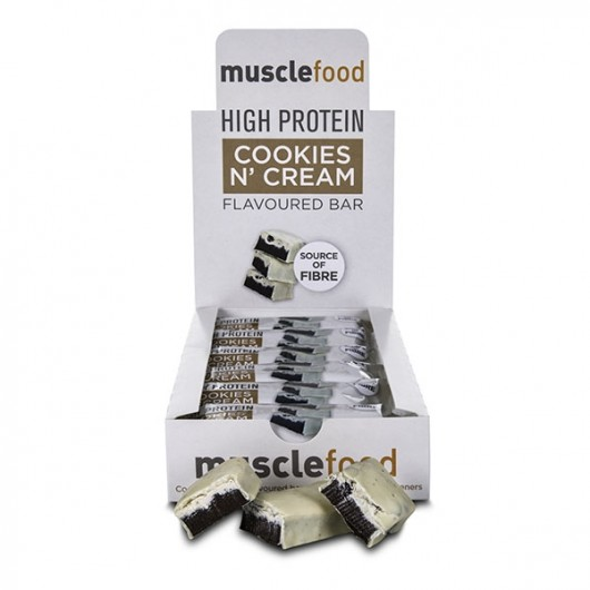 Cookies & Cream Protein Bar - 12 Pack