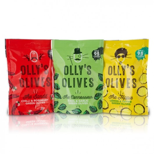 Olly's Unpasteurised Greek Olives