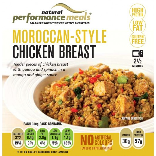 Protein Ready Meal - Moroccan Chicken