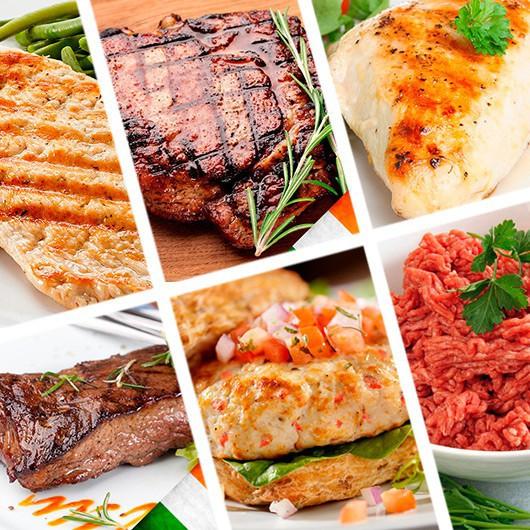 85 Piece Lean Meat Selection