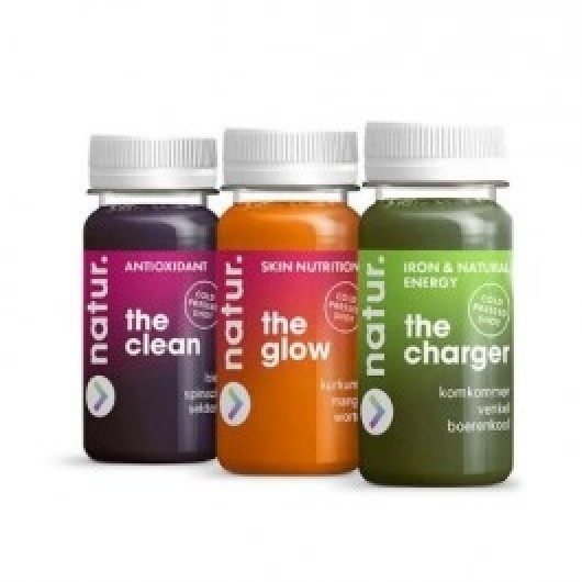 3 x 100ml Cold Pressed Fruit and Veg Juice Shots