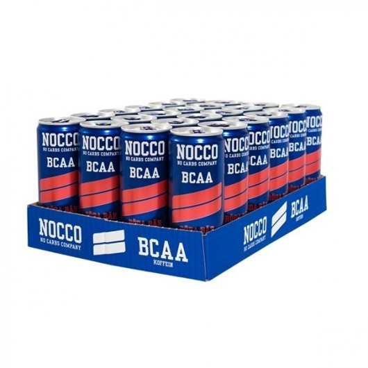 Nocco BCAA Drink - Red Berries - x 24