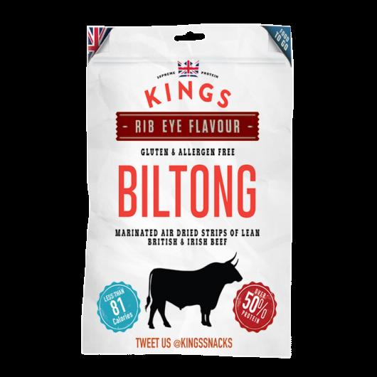 Kings Ribeye Beef Biltong- 30g