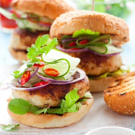 BBQ Chicken Burgers - 2 x 4oz