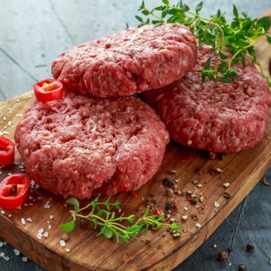 Free Range Beef Steak Burgers - 340g