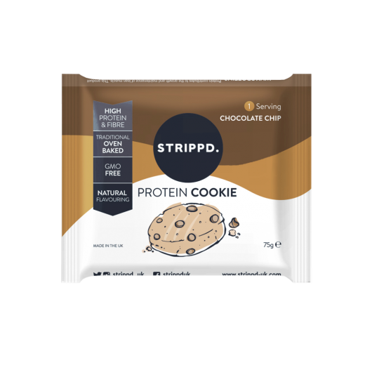 Strippd Protein Cookies - Choc Chip - 6 cookies
