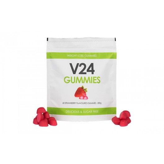 V24 Weight Loss Gummies - Strawberry 300g