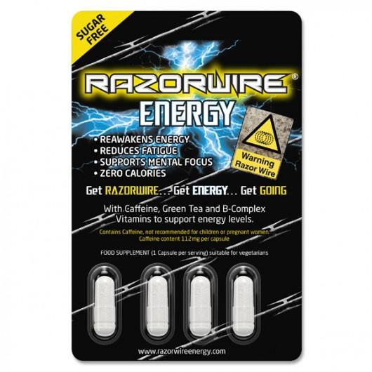 Razorwire Energy Capsules