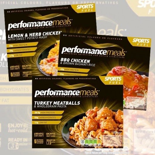 Performance Meals (6) Variety Pack