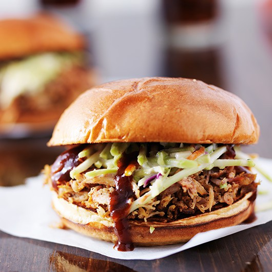Pulled Pork with Sweet BBQ Honey Sauce
