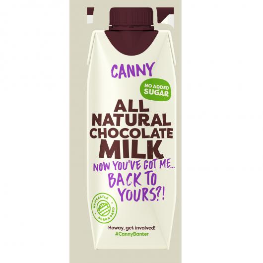 Canny Chocolate Milk - 6 x 330ml