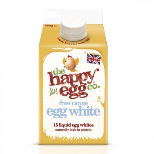 2 x 500ml - The Happy Egg Co. Liquid Egg Whites