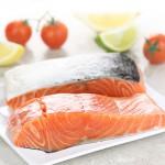 2 x 8-9oz Fresh Salmon Fillets - 500g