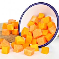 Blokjes Butternut Squash & Zoete Aardappel