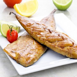 2 x Fresh Smoked BBQ Mackerel - 250g