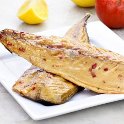 Fresh Smoked Mackerel with Chilli - 250g