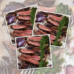 10 x 170g Matured Free Range Ribeye Steaks
