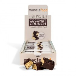 High Protein Coconut Crunch Bar - 12 Pack