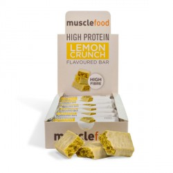 High Protein Lemon Crunch Bar - 12 Pack