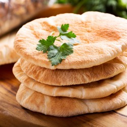 High Protein Reduced Carb Large Pita Bread