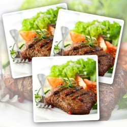 10 x 170g Matured Free Range Rump Steaks
