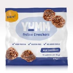 YUMM High Protein Crunchers Milk Chocolate