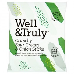 3 x Well&Truly Sour Cream and Onion Sticks
