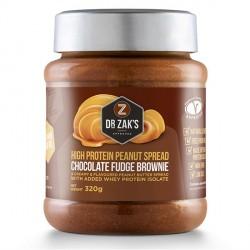 Dr Zaks Fudge Brownie Peanut Butter - 320g