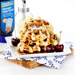 4 x High Protein Waffles - 20g Protein