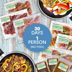 Clean Eating Dinner For 30 days - For 1 (No Fish)